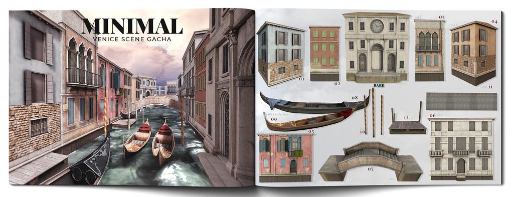 MINIMAL – Venice Scene Gacha