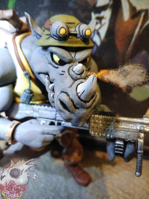 Duzmachines84 :: Rhino Guys Helmet & Pig Guy's Drill Gun vii  (( 2020 ))