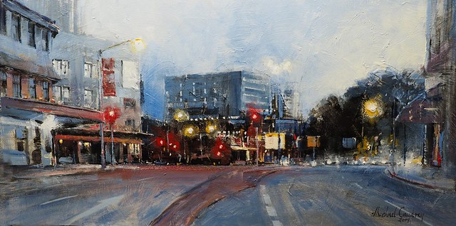 Queen Street Just Before Dawn