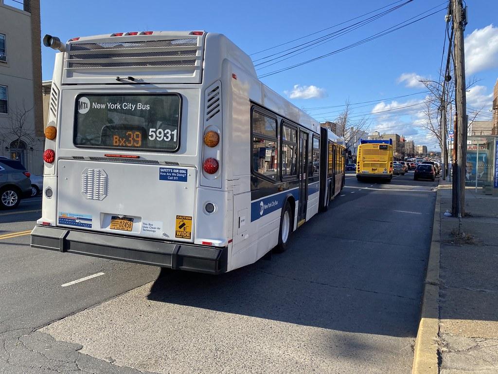 2012 Nova Bus LFSA 5931 - Bx39 To Wakefield-241 St