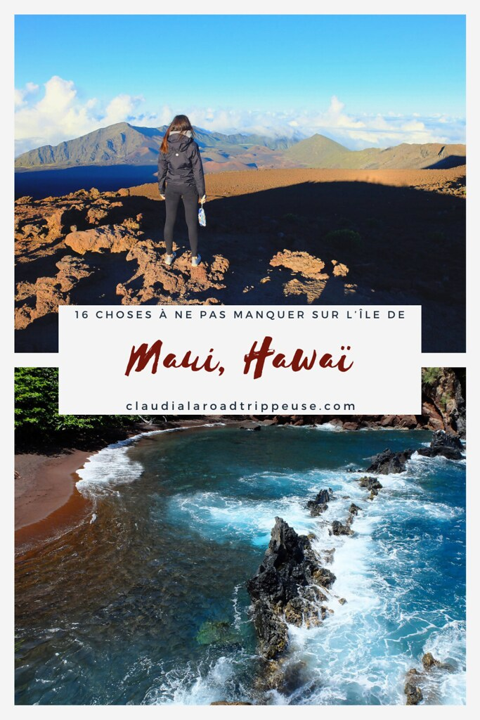 Maui, Hawaï canva pour Pinterest