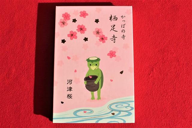 「河津桜まつり2020」限定のオリジナル御朱印帳
