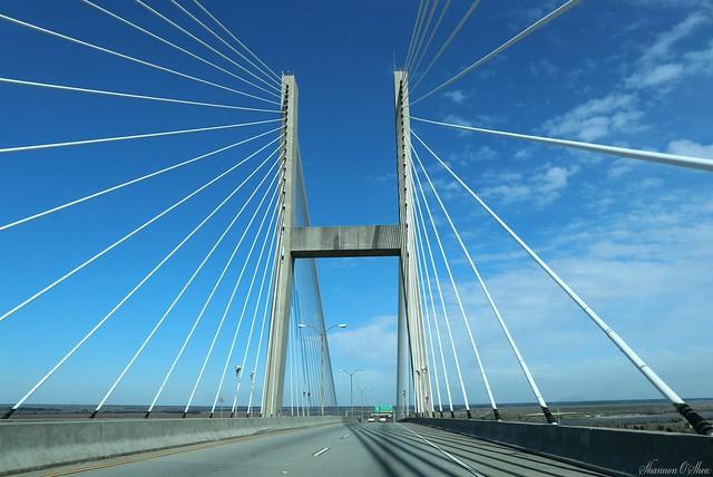 And the bridge - it shines