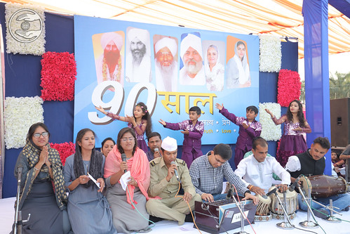 Welcome song by Bal Sangat Rajkot GJ
