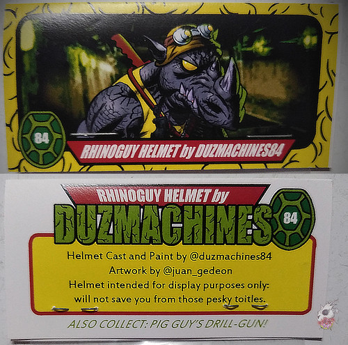 Duzmachines84 :: Rhino Guys Helmet & Pig Guy's Drill Gun iv / Helmet pack  (( 2020 ))