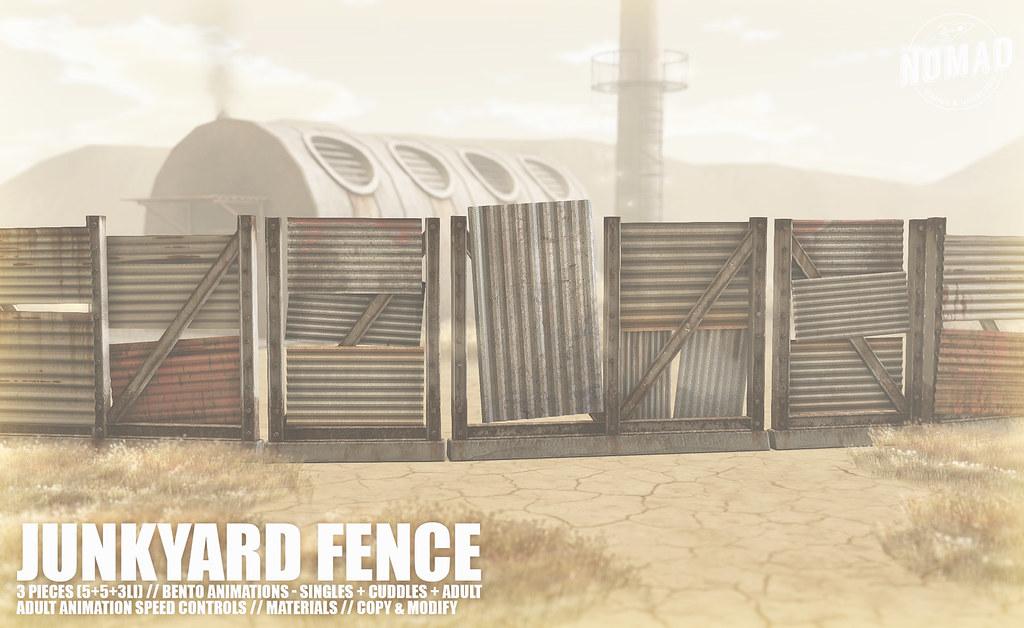 NOMAD // Junkyard Fence