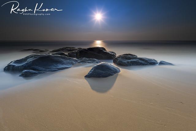 Sunrise @ Kovalam Beach, India