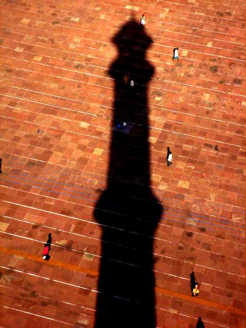 City Monument - The Mosque's Minar, Jama Masjid