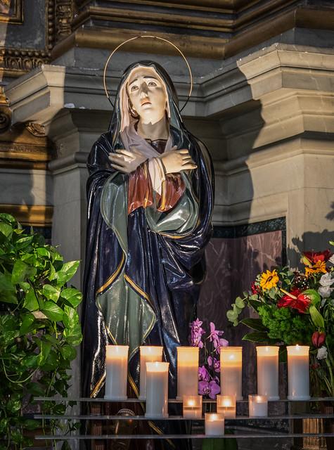 Virgin Mary, Chiesa di San Marcello al Corso DSC_0873