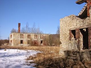 Maardu kadunud hooned / Deserted Maardu in Estonia