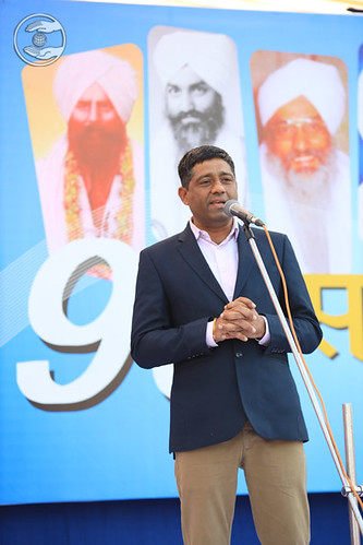 Gurdat Ji presented speech