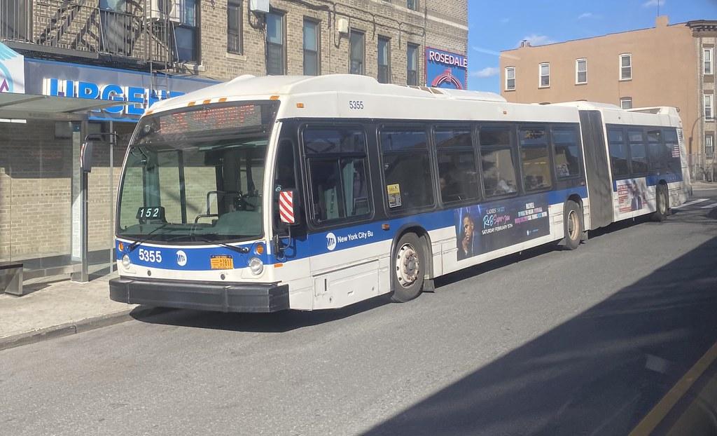 2013 Nova Bus LFSA 5355 - Bx36 To Washington Heights G W Bridge