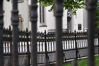 fence through fence