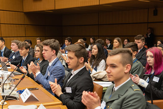 "High school Model UN ""Modell UNO Wien"" at UN Vienna"