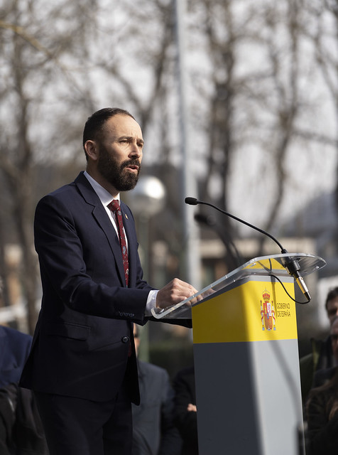 Toma de posesión de Denis Itxaso como Delegado del Gobierno