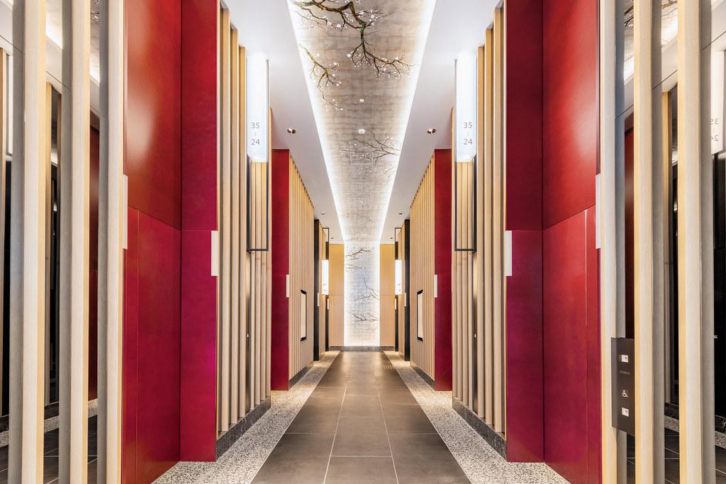 9F Elevator hall