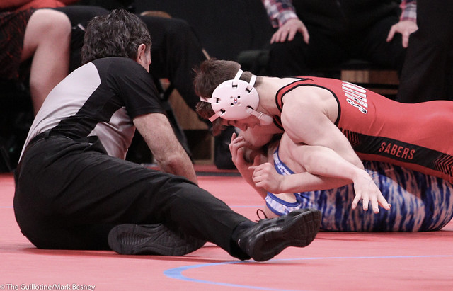 113 - Blake West (Shakopee) over Owen Thorn (Owatonna) Fall 3:03 - 200227bmk0009