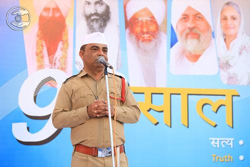 Dilip Gera Ji presented Gujarati speech
