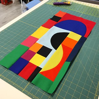 Sonia Delaunay blocks for Ken