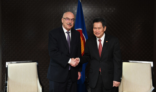 (FEB 2020) Secretary-General of ASEAN received courtesy call from the Under-Secretary-General of United Nations Office of Counter-Terrorism (UNOCT)