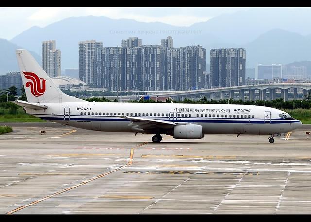 B737-800 | Air China Inner Mongolia | B-2670 | ZSAM