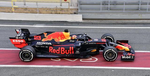 Red Bull RB16 / Alexander Albon / Aston Martin Red Bull Racing