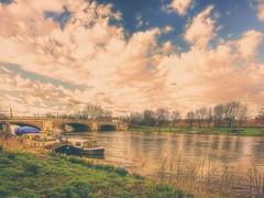 """""""Boats, Bridge and a Big Big Sky"""""""