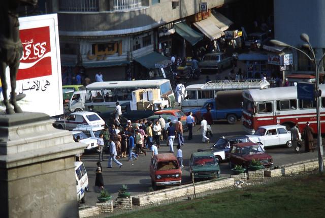EGYPTE VIE QUOTIDIENNE-1980 / Le Caire