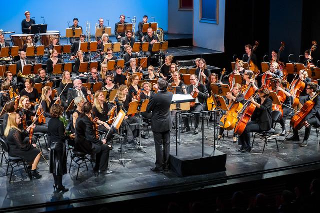 Jubiläumskonzert Universitätsorchester Duisburg-Essen, 26.01.2020 im Theater Duisburg