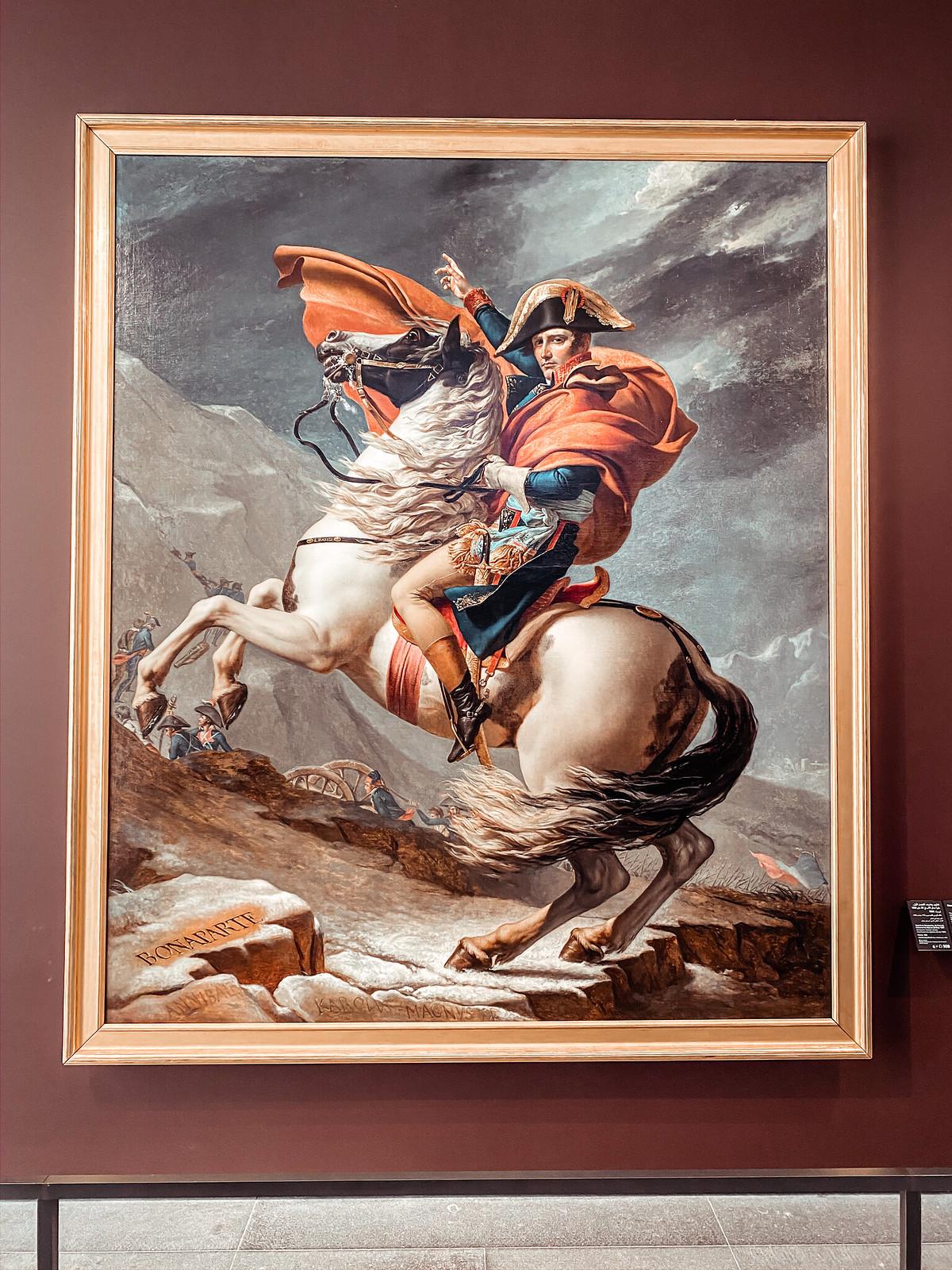 Napoleon Bonaparte Louvren näyttely