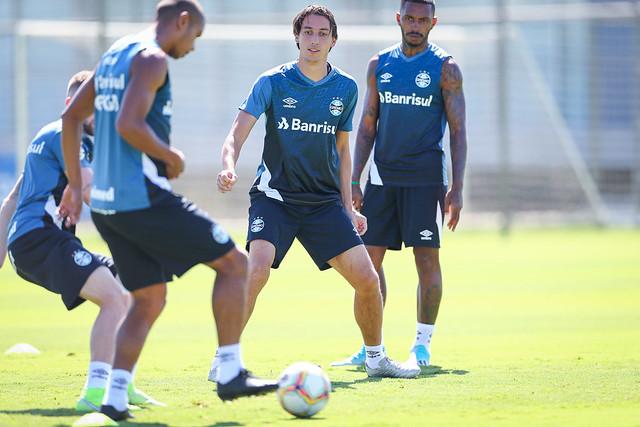 Treino Grêmio 28/02/2020