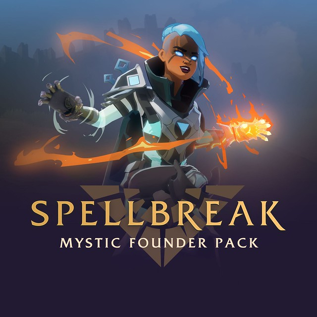 Thumbnail of Spellbreak - Mystic Founder Pack on PS4