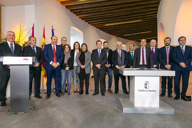 Firma del 'Pacto contra la Despoblación de Castilla-La Mancha'