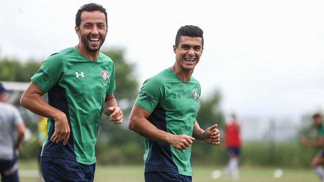 Treino do Fluminense - 28/02/2020