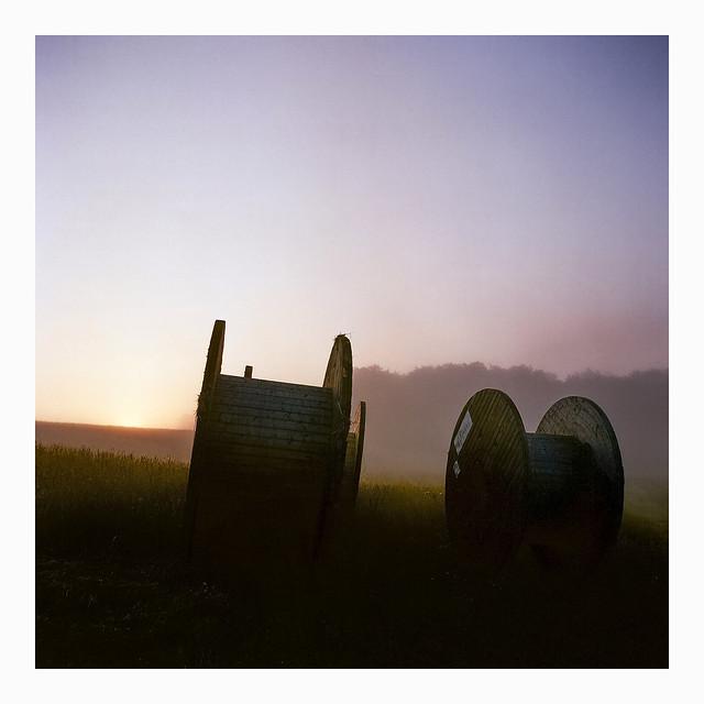 """""""Hay Bales"""" – Kodak Porta 160"""
