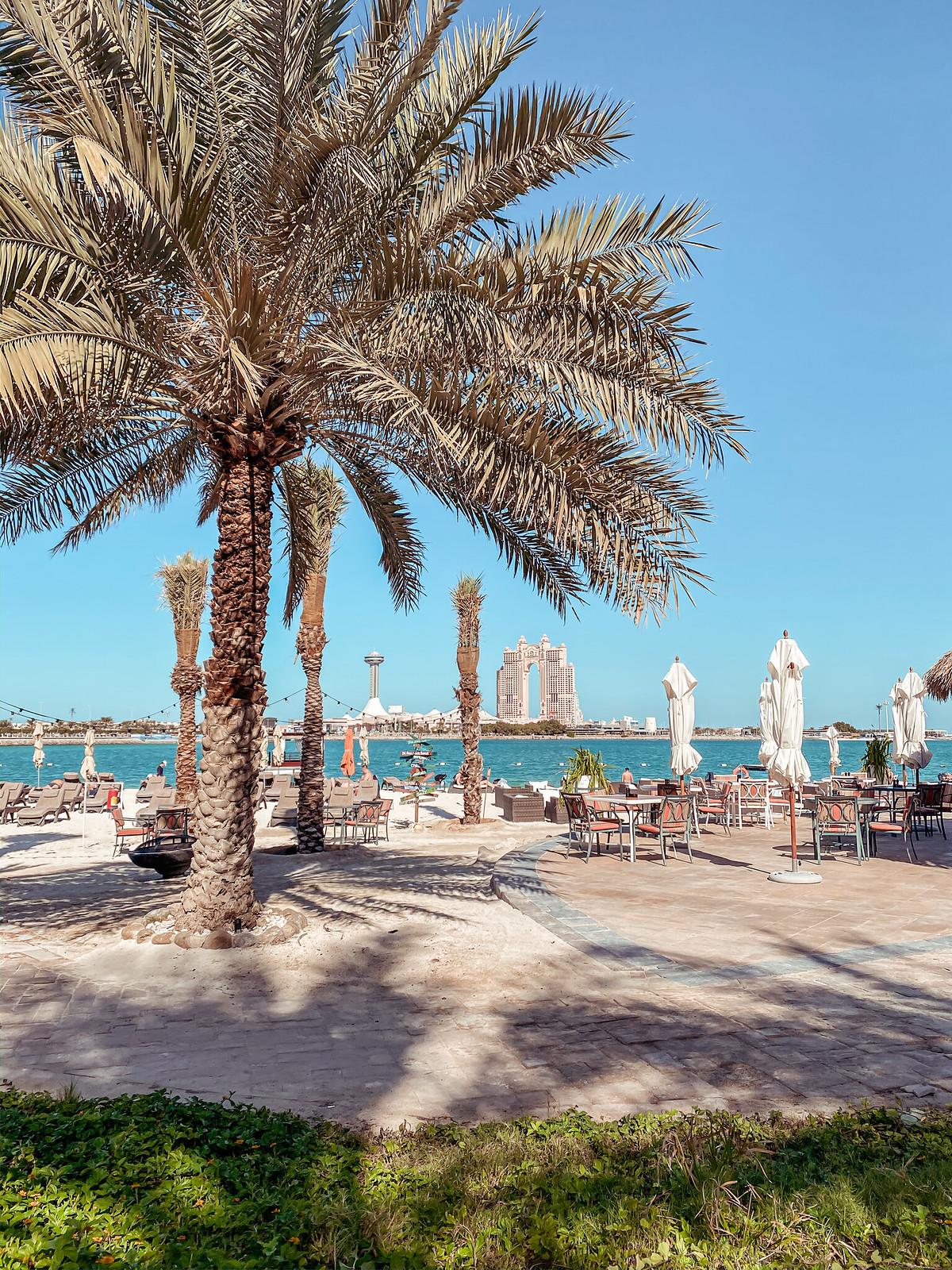 Radisson Blu Corniche beach