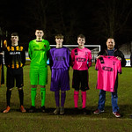 Under 17s with home and away sponsors
