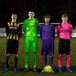 Lucas Sey, Cameron Middleton, Sandy Watt & Greg Fowlie model the new kits