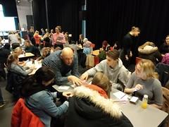 Studenten Dienstverlening bedenken zorgdomoticaconcepten tijdens Challenge bij ROC Friese Poort