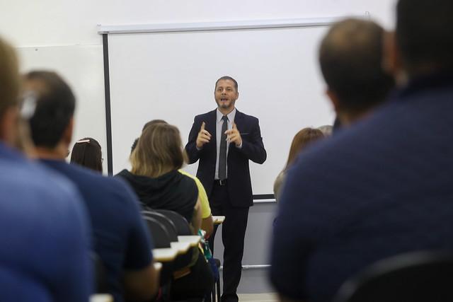 27.02.2020 - Aula Magna na Unidade Jaú da Faculdade Anhanguera
