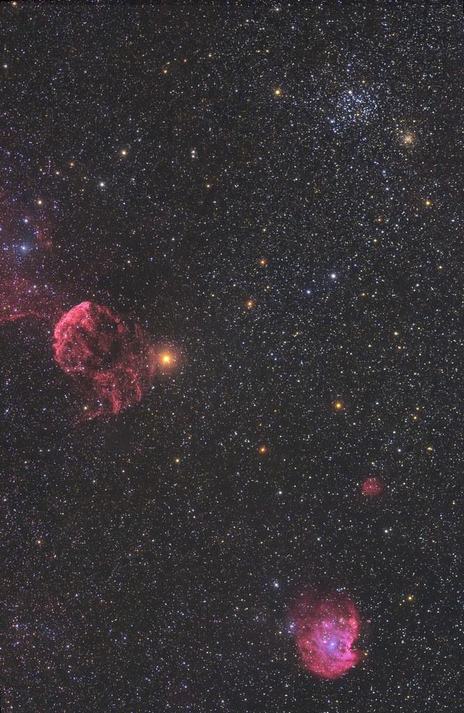 M35,NGC2174 and IC443