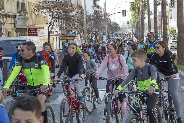 Marcha en Bici Los Palacios