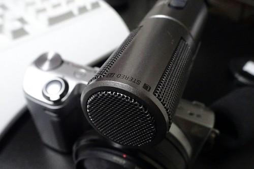 ソニー NEX用外部マイク ECM-SST1