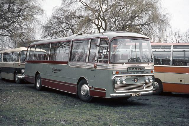 Gliderways . Smethwick , Birmingham . FHA903D . Wembley Stadium , London . Saturday 21st-March-1970 .