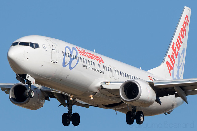 Boeing 737-800 Air Europa EC-LUT cn 36592/4434