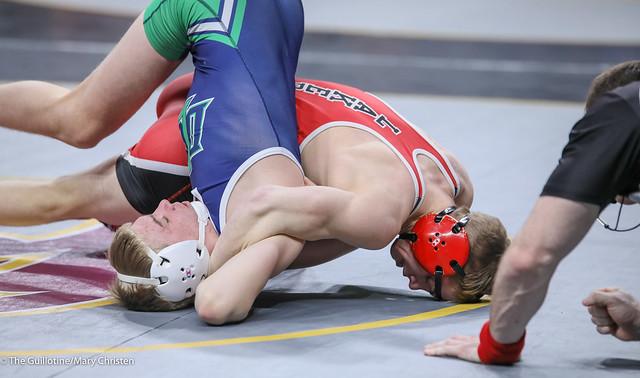145 – Brody Ullyott (DETL) over Brandon Hackbarth (DCL) Fall 1:07 200227amc7766