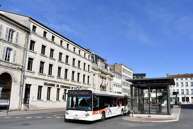 Angoulême - HeuliezBus GX 327 - 22/02/20