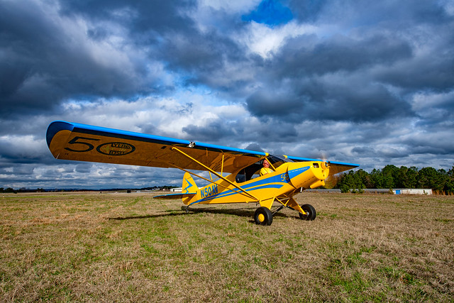 EAA Aircraft Raffle Airplane - S-LSA PA-18 Replica Super Cub