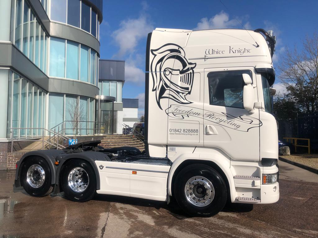 Scania White Knights from Keltruck