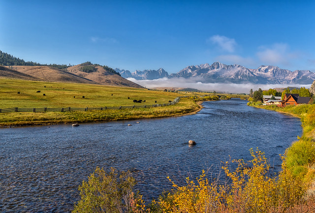Sawtooths + Salmon River